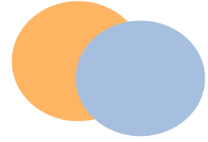Apricot and Robin's Egg Blue