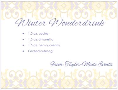 Winter Wonderdrink