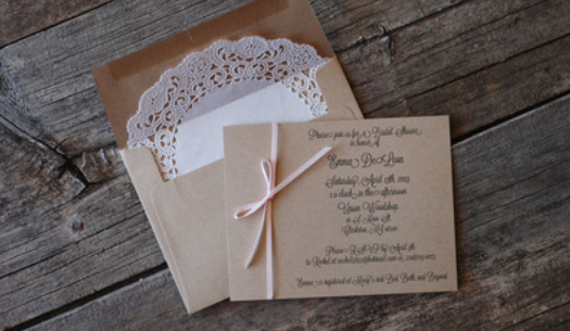Fun Things to do with Your Extra Wedding Invitations – 561.247.3539