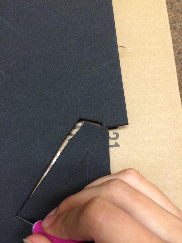 DIY Burlap Sign 10