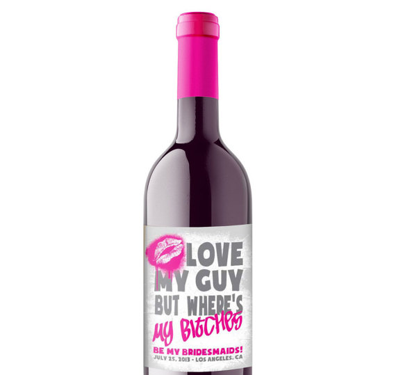 #wine #bridesmaid
