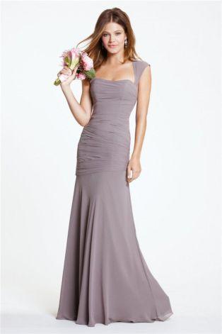 grey dress2